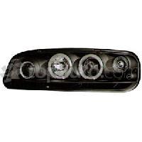 Phares de voitures 2 phares avec Angel Eyes pour Fiat Punto -Type 188