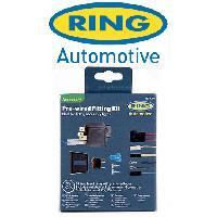 Phares de voitures Kit de cablage relais interrupteur