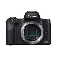 Photo - Optique CANON 2680C002  - Appareil Photo Hybride Canon EOS M50 noir - Boîtier Nu
