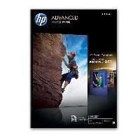 Photo - Optique Papier photo HP Advanced a finition brillante - 25 feuilles/A4/210x297mm (Q5456A)