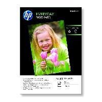 Photo - Optique Papier photo brillant HP Everyday - 100 feuilles/A4/210 x 297 mm (Q2510A)