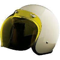 Piece Detachee Casque Ecran bubble jaune pour casque pearl