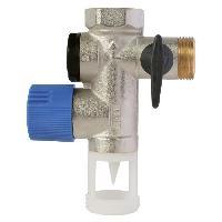 Piece Detachee Genie Thermique - Piece Detachee Climatisation Groupe de securite NF - Droit - Laiton 34