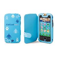 Piece Detachee Multimedia Enfant Kidicom Max - Etui De Protection Bleu
