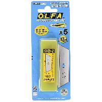 Piece Detachee Outil A Main 30 lames de cutter securite 18mm OLFA SK4
