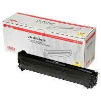 Piece Detachee Pour Imprimante Kit tambour 42918105 - Compatible C9600C9650C9800C9850 - Jaune - Capacite standard 30.000 pages