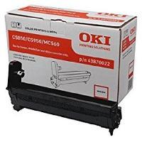 Piece Detachee Pour Imprimante Tambour - Magenta - Capacite standard 20.000 pages - Compatible avec C5850. C5950