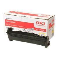 Piece Detachee Pour Imprimante Tambour C3300. C3400. C3450. C3600 - Jaune - 15.000 pages