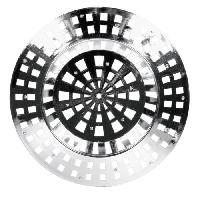 Piece Detachee Sanitaire Plomberie Crepine de vidange - 71 mm - 2 pieces
