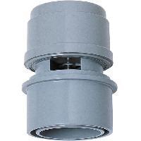 Piece Detachee Sanitaire Plomberie WIRQUIN Anti-vide droit VP15 - Pour tube O 32 ou 40 mm - a coller