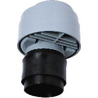 Piece Detachee Sanitaire Plomberie WIRQUIN Anti-vide droit excentre VP100 - Pour tube O 80 a 110 mm - a coller