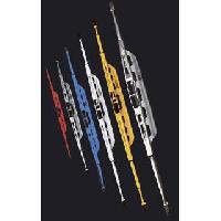 Pieces 1 Balai Essuie-Glace - Metallique - 49cm - Jaune
