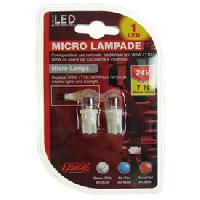 Pieces 2 Ampoules 1 Led T10 24V blanc