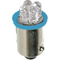 Pieces 2x Ampoules led BA9s bleu 24V
