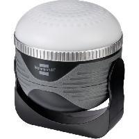 Pile - Lampe Electrique Brennenstuhl Lampe portable LED polyvalente. rechargeable. OLI. 350 lumen. avec haut-parleur bluetooth -IP44-