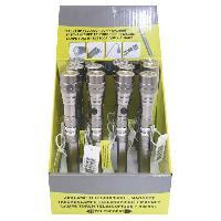 Pile - Lampe Electrique DISPLAY 12 X LAMPE DE POCHE TELESCOPIQUE