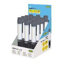 Pile - Lampe Electrique Lampe De Poche 3w Cob Ring -PAR Presentoir De 12- Generique