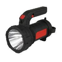 Pile - Lampe Electrique Torche lanterne 2 en 1 3 W 12 LED SMD noire