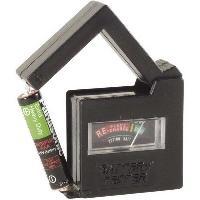 Pile - Lampe Electrique VOLTMETRE TESTEUR DE PILES