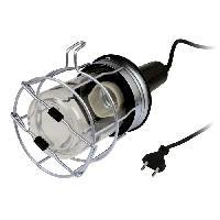 Pile - Lampe Electrique ZENITECH Baladeuse metal filaire 5m 60W pour ampoule E27