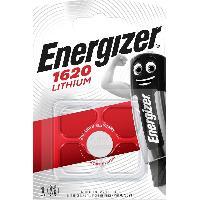 Piles 10x Piles Lithium Cr1620 Bp1 Energizer