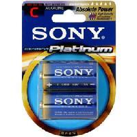 Piles 2 Piles LR14 Platinum SONY Generique