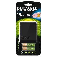 Piles DURACELL Chargeur CEF27 + AA / AAA x2