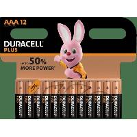Piles DURACELL PLUS AAA x 12