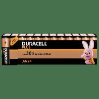 Piles DURACELL PLUS AA x 24