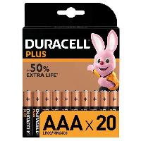 Piles DURACELL PLUS Piles AAA x20