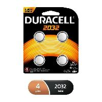 Piles DURACELL Pile Speciale 2032 X4