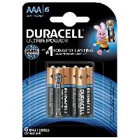 Piles DURACELL Piles Ultra Power AAA X6