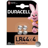 Piles DURACELL SPE LR44 x 4