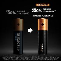 Piles Duracell - NOUVEAU Piles alcalines AA Optimum. 1.5 V LR6 MX1500. paquet de 8