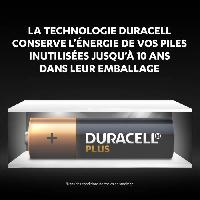 Piles Duracell - NOUVEAU Piles alcalines AA Plus. 1.5 V LR6 MN1500. paquet de 24