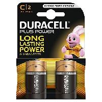 Piles Duracell Pile duralock plus power LR14 x2