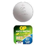 Piles GPBM Boite de 10 piles GP357 Oxyde d'Argent