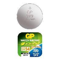 Piles GPBM Boite de 10 piles GP389 Oxyde d'Argent