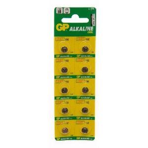 Piles GPBM Carte de 10 piles LR41 Alcaline