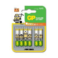 Piles GP Piles AAA LR03 Ultra 8+4 Minions