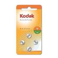 Piles KODAK Piles pour appareil auditif P13 batterie - Vendu par lot de 4