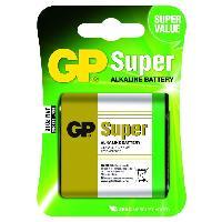 Piles PILES SUPER ALCALINE GP 312AE-U1 3LR12 4.5V blister de 1 pile