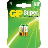 Piles PILES SUPER ALCALINE GP 910AE-2U2 LR1 Blister de 2 piles Gp Batteries