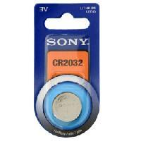 Piles Pile 3V CR2032 Sony