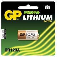 Piles Pile Lithium CR123A - 3 Volts Gp Batteries