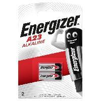 Piles Pile alcaline miniature Energizer A23. pack de 2