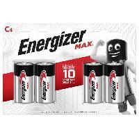 Piles Piles Alcalines Energizer Max C/LR14. pack de 4