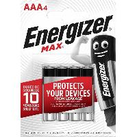 Piles Piles LR03 AAA Max Energizer