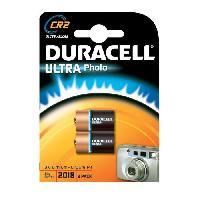 Piles Piles au lithium haute puissance Duracell CR2 3 V. lot de 2 (CR15H270)