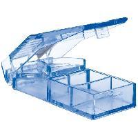 Pilulier Coupe-comprime NOVOLIFE - L8.7 x l3.5 x H2.5 cm - 28 g